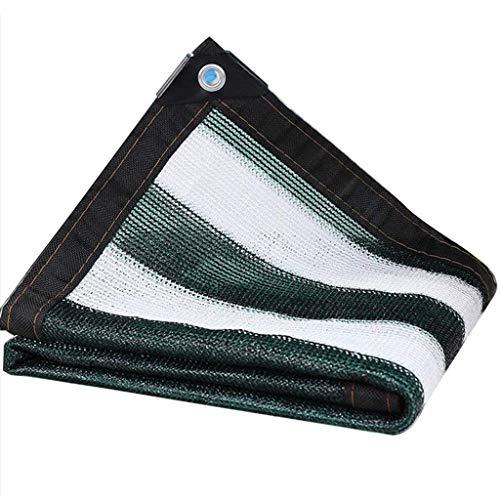 Lixin Filet d'ombrage épaississant extérieur pour parasol en polyéthylène haute densité (Couleur : Vert foncé, taille : 5M×6M)