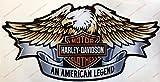 Wappen Logo Decal Harley Davidson, Adler, 3d-Effekt. Für Benzintank oder Helm