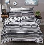 3102d78c5f758 Pieridae Parure de lit avec Housse de Couette et taies d oreiller en  Polycoton teinté