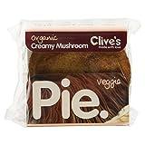 Clive's Pies Organic Wholewheat Veggie Creamy Mushroom Pie, 235g