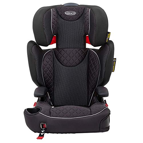 Graco Affix Highback Booster Car Seat with ISOCATCH Connectors, Group 2/3 (4 to 12 Years Approx., 15-36kg), Stargazer