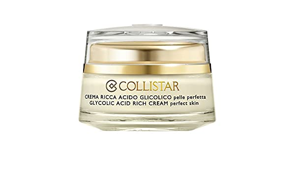 Collistar Creme Riche Acide Glycolique 50ml  Amazon.fr  Beauté et Parfum 9588d21606c