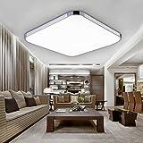 Hengda® 36W LED Deckenleuchte Deckenlampe Flur Panel Badlampe Esszimmer kaltWeiß(6000-6500K), AC 85V-265V, mit Markantes Design