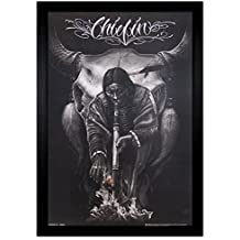 """Chiefin David Gonzales 24""""x36"""" Framed Poster (E1-1121) by Framed Goods"""