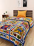 BED ZONE SINGLE bedsheet cotton 100 % co...