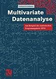 Multivariate Datenanalyse: Am Beispiel des statistischen Programmpakets SPSS