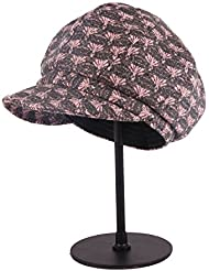 lkklily-retro moda otoño invierno lana cálido de cúpula de Fedora sombrero señoras boina