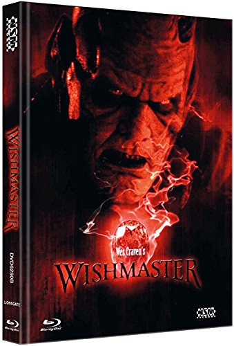 Wishmaster - uncut (Blu-Ray+ DVD) auf 444 limitiertes Mediabook Cover B [Limited Collector's Edition] [Limited Edition]