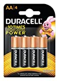 #8: Duracell Alkaline AA Battery with Duralock Technology - 4 Pieces