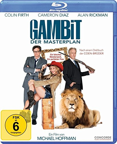 Gambit - Der Masterplan [Blu-ray]