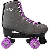 Cox Swain Kinder Rollschuhe -JUMAH- Rollerskates- ABEC5, Colour: Dark Grey, Size: 41