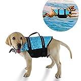 YMTECH Chaleco salvavidas para perro, chaleco para natación para perros, salvavidas para perros