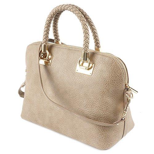 LIU JO ANNA SHOPPING BAG N66082E0011 71212 Tortora