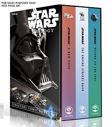 Star Wars Trilogy: Cinestory Comic Boxed Set