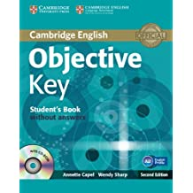 Objective Key Student's Book without Answers with CD-ROM.