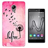 720 - Cool Birds Fun Be Free Quote Design Wiko Robby / Wiko