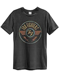 Amplified Foo Fighters - FF Air - Mens Charcoal T Shirt
