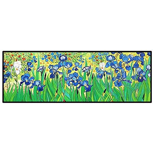 WSNDGWS Van Gogh Iris Dekorative Malerei Hotel B & B Reine Handgemalte Nacht Dekorative Ölgemälde (Replikat) -