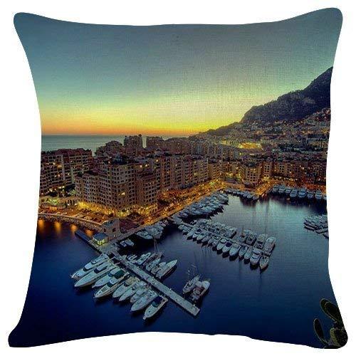 quanzhouxuhuixiefu 18x18 Inches Plush Cushion Covers Throw Pillowcases - ES Pontas Near Santanyi On Mallorca - Super Soft Fashion Simple Decorative Pillowcases