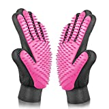 [Upgrade Version] BYETOO Pet Grooming Glove - Gentle Deshedding Brush Glove - Efficient