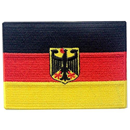 Bandera alemana escudo armas Alemania Eagle
