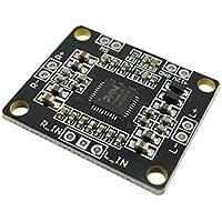 WINGONEER Stereo 12V PAM8610 Mini Classe D amplificatore di potenza digitale Consiglio 2 X15w Dual Channel