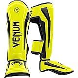 Venum Elite Standup Shin Guards - Neo Yellow - Best Reviews Guide