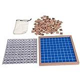 Kalttoy Montessori - Tabla de madera de 1 a 100 números de juguete