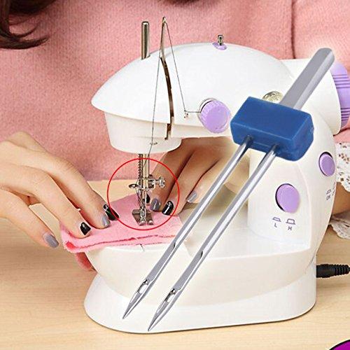 Generic 3 pcs Double Needles Sewing Machine Tool Kit