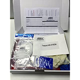 Complete Sealed Abestos Test Kit for DIY & Professional Use - 1 x Sample Per Kit - includes protective clothing, waste bags & 24 hour analysis by a UK government approved laboratory