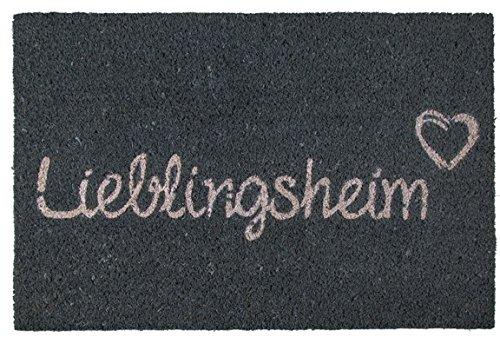 Bada Bing Fußmatte Türmatte Kokos Matte 60 x 40 Lieblingsheim Familie Spruch Liebe Trend Neu 410