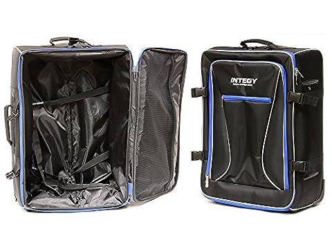 Integy RC Model Hop-ups C24007BLUE Team Integy Hauler Carrying Bag w/ Trolley Wheels & Handle L23 W17 H10