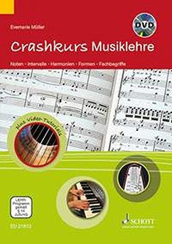 Crashkurs-Musiklehre-Noten-Intervalle-Harmonien-Formen-Fachbegriffe-Ausgabe-mit-DVD