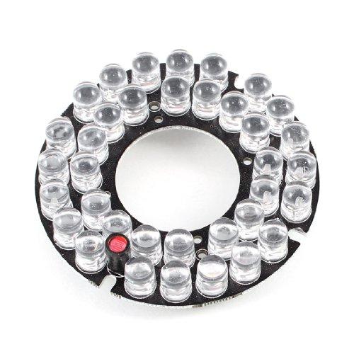 Ccd-30 Ir-leds (CCTV CCD Kamera 30 Grad Bulb Rot 36 LEDs Runde IR Infrarot Vorstand Platte)