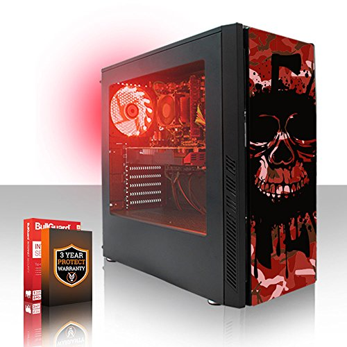 Fierce Cheetah High-End RGB Gaming PC - Schnell 4.7GHz Hex-Core Intel Core i7 8700K, 240GB Solid State Drive, 1TB Festplatte, 16GB 2666MHz, NVIDIA GeForce RTX 2070 8GB, Windows Nicht Enthalten 505345