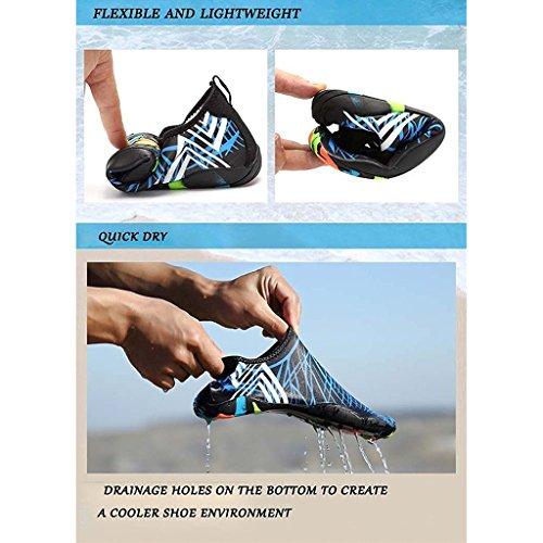 Água Sapatos Para Badeschuhe Sapatos Praia Descalços Surf De Aqua Unissex De Eagsouni® Sapatos Sapatos Sapatos Sapatos Flutuantes Homens Mulheres Brancos 57xFqzanw