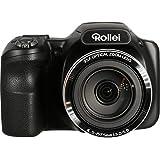 Rollei Powerflex 350 WiFi - Kamera mit 35-fachem Superzoom, 16 Megapixel, 26 Motivprogramme und 17 Art Effekte - Schwarz
