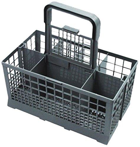 Universal Cutlery Basket Fits Bosch/Hotpoint/Neff/Siemens/Smeg Dishwasher, Grey