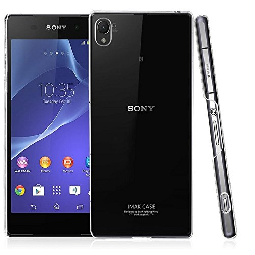 Heartly Imak Crystal Clear Hot Transparent Thin Hard Best Back Case Cover For Sony Xperia Z4  available at amazon for Rs.299