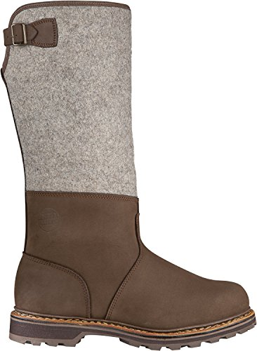 Hanwag Homme Chaussures d'hiver Marron/gris