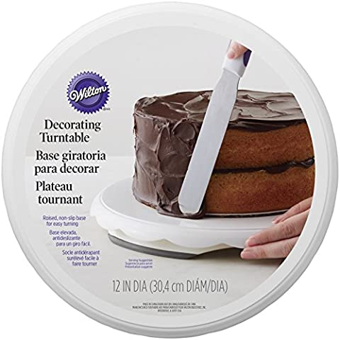 Wilton Décoration de gâteau platine, Blanc
