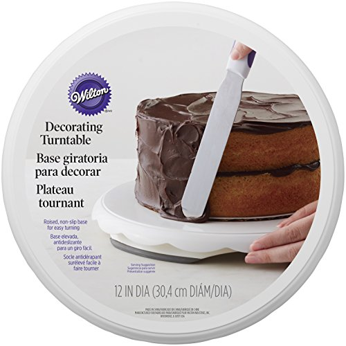 Wilton Base giratoria Decorar Tartas Color Blanco
