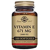 Natural Vitamin E 671 mg (1000 I.E.) 100 Softgels SO