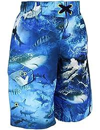 Jungen Schwimm Shorts Pazifik Netzgefüttert