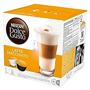 Details about NESCAFÉ Dolce Gusto Cappuccino, Americano and Latte Macchiato 3 Pack 32 Servings Cups