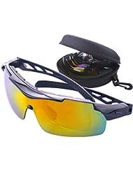Gafas Gafas para ciclismo profesionales polarizadas para Exterior Deportes Bicicleta Bici