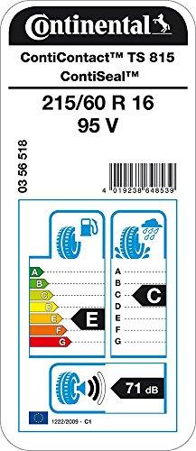 CONTINENTAL ContiContact TS 815   - 215/60/16 095V - E/C/71dB - Ganzjahresreifen (PKW)