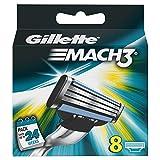 Gillette Mach3 Manual Razor Blades - Pack of 8 Blades - Gillette - amazon.co.uk