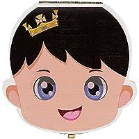 Preisvergleich für Holz Baby Zahn Box Organizer Milch Zahn Aufbewahrungsbox Baby Geschenk für junge Mädchen