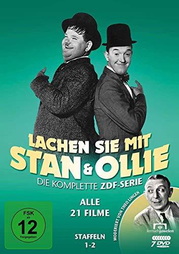 Lachen Sie mit Stan & Ollie - ZDF-Gesamtedition (7 DVDs)